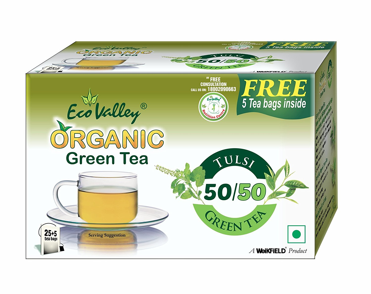 &alt Tulsi Green Tea
