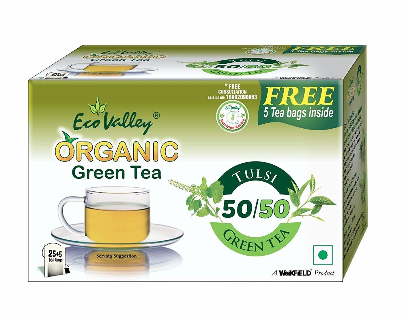Eco Valley Tulsi Green Tea