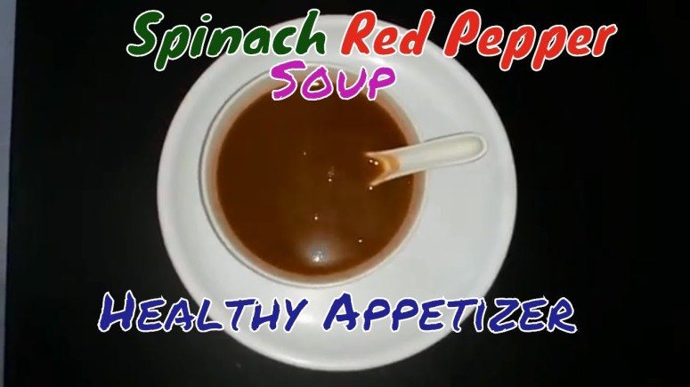 Spinach Red Pepper Soup